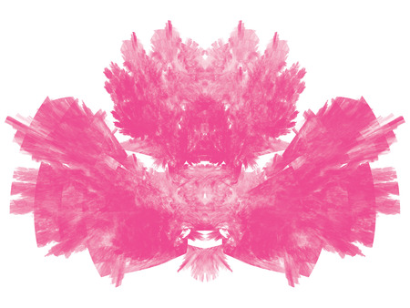 Toned pink abstract fractal illustration. Design element for book covers, presentations layouts, title and page backgrounds.Raster clip art.