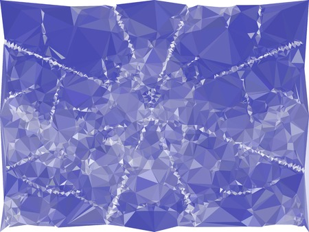 gemstone: Blue mosaic backdrop with triangles. Abstract geometric low polygonal background. Design element for book covers, presentations layouts, title backgrounds. Vector clip art.