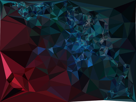 mosaic: Geometric low polygonal background. Abstract multicolor mosaic backdrop. Design element for book covers, presentations layouts, title backgrounds. Vector clip art.