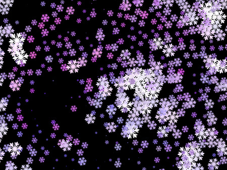 Abstract winter background with snowflakes. Design element for brochure, advertisements, flyer, greetings cards, web and other graphic designer works. Vector clip art.