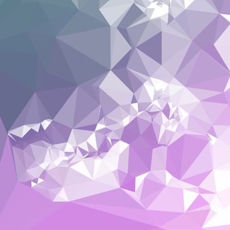 Mosaic background.  Geometric low polygonal illustration. Design element for book covers, presentations layouts, title backgrounds. Vector clip art.