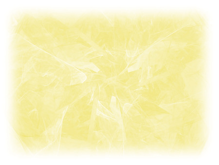 Yellow color toned monochrome abstract fractal illustration. Faded background. Design element for book covers, presentations layouts, title and page backgrounds.Raster clip art.