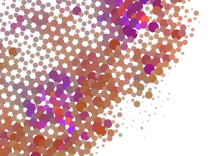 Abstract background. Spotted halftone effect. Dots, circles Vector illustration.