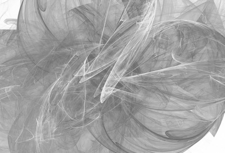Monochrome abstract fractal illustration.