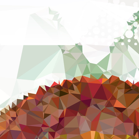 Abstract background with dots. Horizontal banner, texture, flyer, layout, postcard. vector clip art