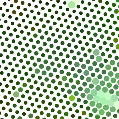 Abstract horizontal background. Spotted halftone effect. Dots, circles. Vector clip art