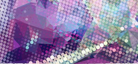 Abstract background with geometric motif. Vector clip art.