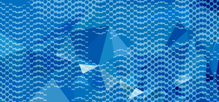 Abstract background with dots. Horizontal banner, texture, flyer, layout, postcard. Vector clip art. Ilustração