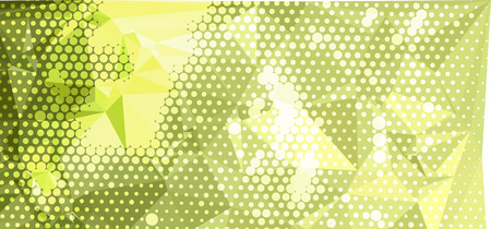 Abstract background with dots. Horizontal banner, texture, flyer, layout, postcard. Vector clip art. Illustration