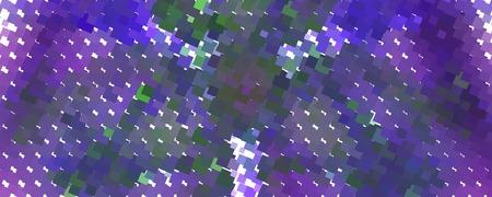 Abstract background with dots. Horizontal banner, texture, flyer, layout, postcard vector clip art. Ilustração