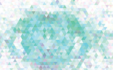 Low poly mosaic background. Template design, list, front page, brochure layout, banner, idea, cover, print, flyer, book, blank, card, ad, sign, sheet. Copy space. Vector clip art.
