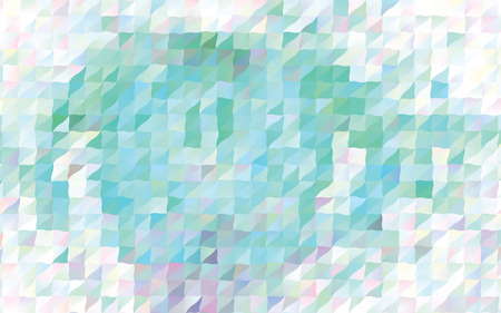 Low poly mosaic pattern design