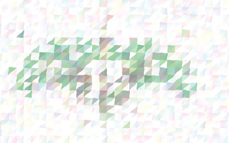 Low poly mosaic pattern Template design