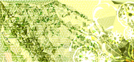 Abstract background for horizontal banner, texture, flyer, layout, postcard. Vector clip art