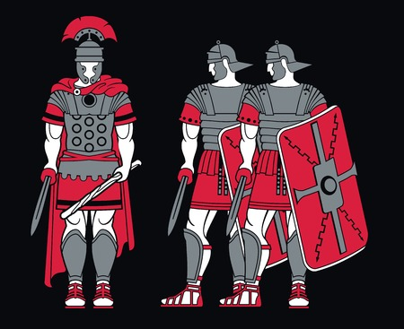 Ancient Roman Warriors