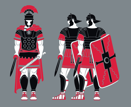 Ancient Roman Warriors