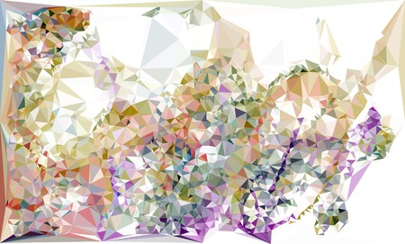 Abstract background with low polygonal mosaic texture 일러스트