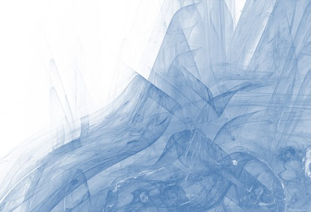 Beautiful abstract background in blue color. Digital fractal composition. Stok Fotoğraf - 122466797
