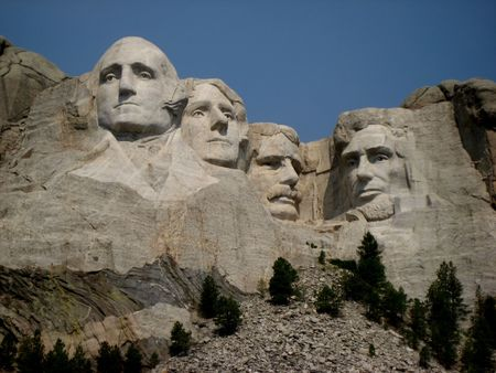 mt: Northern Plains South Dakota Mount Rushmore
