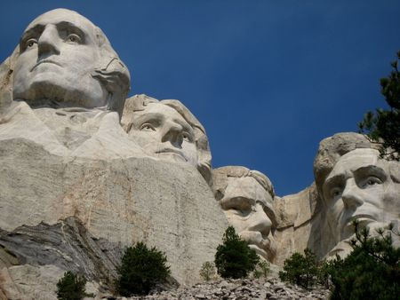 Northern Plains South Dakota Mount Rushmore Stock Photo - 2047323