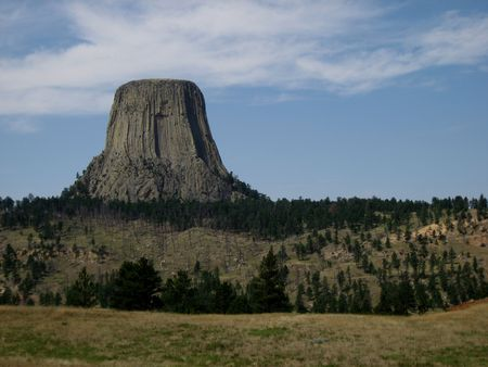 puffy: Northern Plains Wyoming Devils Tower