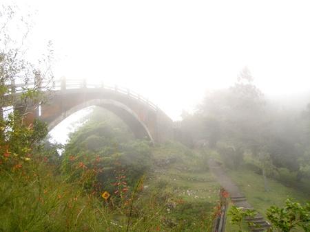 Bridge through the Clouds photo