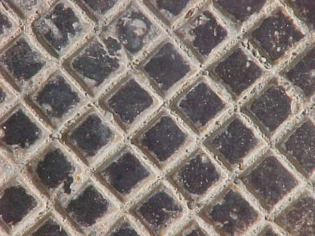 old iron grid picture