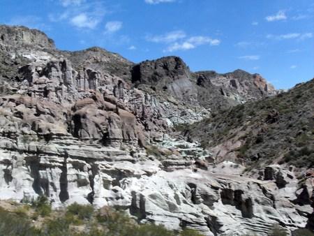 san rafael: Different rock colors
