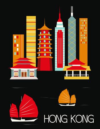 hongkong: Hongkong city.China.
