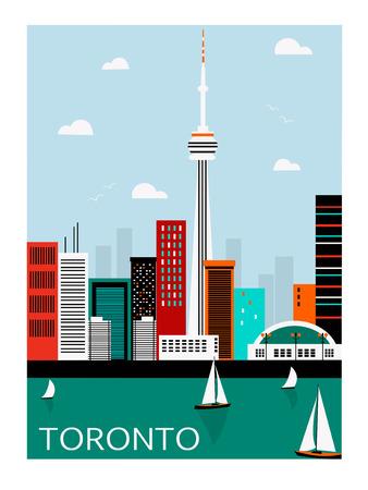 toronto: Toronto city. Canada.