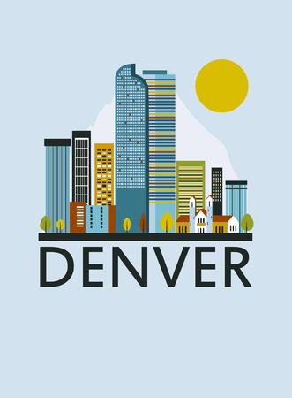 Denver city in Colorado.