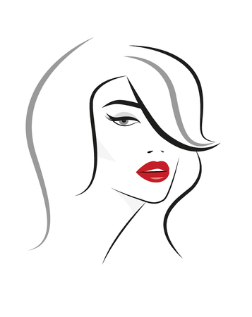 Logo of the Woman with long hair.