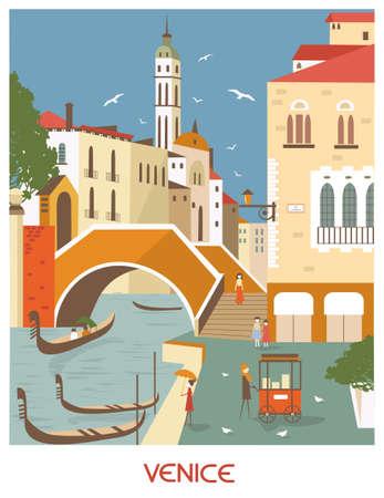 Venice Italy in sunny day
