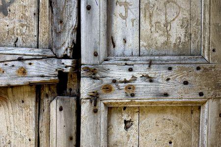 Ancient door detail Stock Photo - 590488