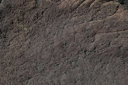 Close-up of a volcanic rock; rough texture Stock Photo