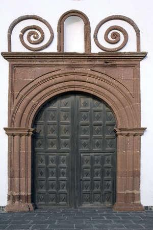 lanzarote: San Francisco klooster in Teguise, Lanzarote, Canarische Eilanden, Spanje