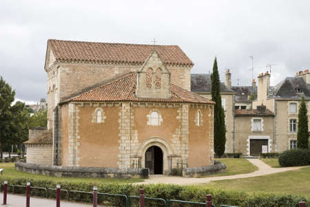 Baptist�re Saint-Jean ( Baptistery of St. John ) Poitiers, France. Oldest church in France