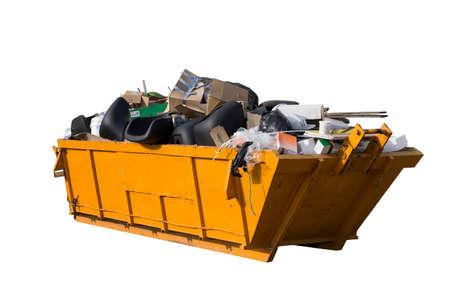 Rubbish removal container