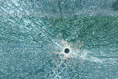 Laminated safety glass with