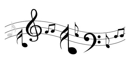 Muzyka Uwagi Ilustracje wektorowe