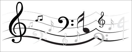 Music Note 矢量图像