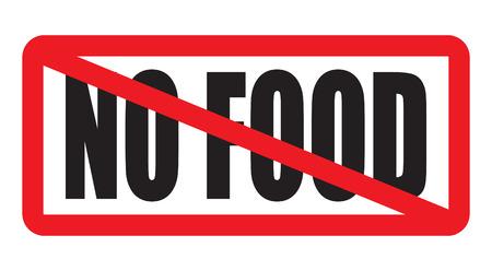 No food Illustration