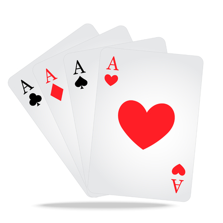 Poker playing cards with casino games