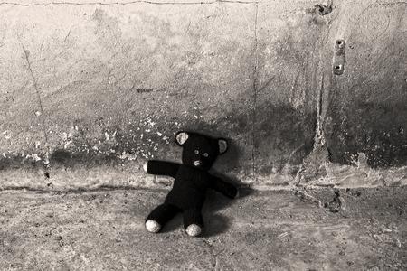 abandoned: Abandoned teddy