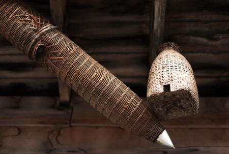 toils: Fish trap device of Famer Stock Photo