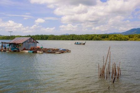 Fish Lake Stock Photo