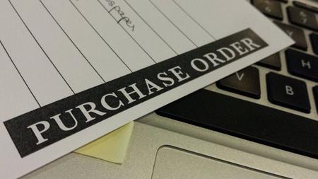 orden de compra: formulario de pedido de compra