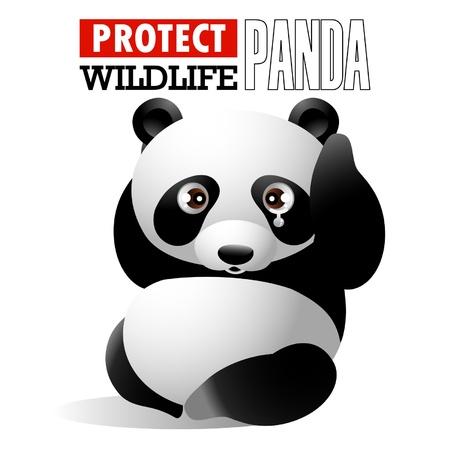 保護野生動物 - パンダ