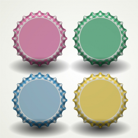 bottle cap opener: Bottle caps