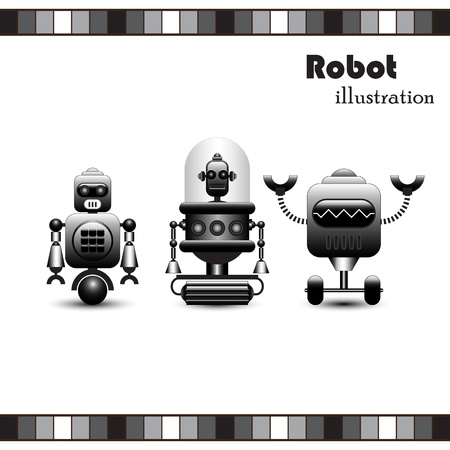 Robots Collection  Stock Vector - 19157067